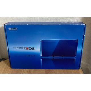 任天堂 - 3DS コバルトブルー 本体