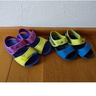 adidas - アディダス☆サンダル 19cm、15cmセット