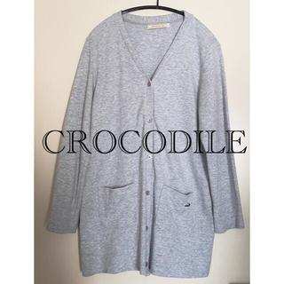クロコダイル(Crocodile)のクロコダイル  crocodile カーディガン トップス レディース(カーディガン)