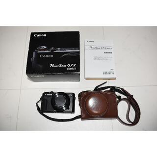 Canon - CANON PowerShot G7X MARKⅡ⑥ SDカードおまけ付き