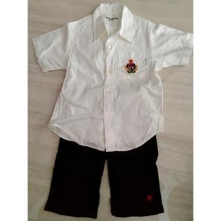 ミキハウス(mikihouse)のミキハウス 白シャツ 値下げ(ドレス/フォーマル)