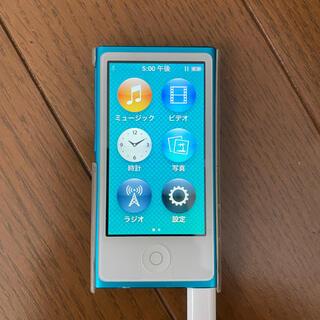 アップル(Apple)のiPod nano 第7世代 16GB 本体のみ(ポータブルプレーヤー)