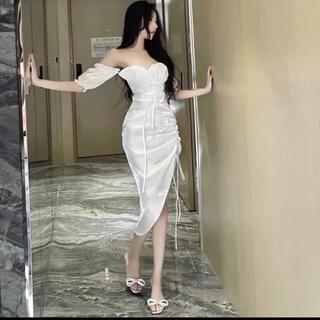 セクシー 高貴セクシーラテンスタイリッシュミニドレスロングドレス2way(衣装一式)