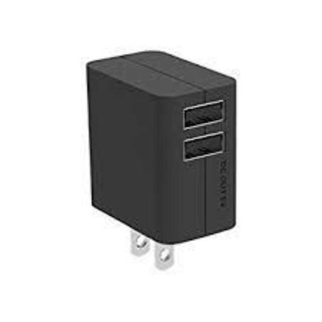 Panasonic(パナソニック)の送料無料】パナソニック QE-AP109-K USB出力ACアダプタ- スマホ/家電/カメラのスマートフォン/携帯電話(バッテリー/充電器)の商品写真
