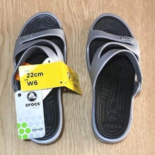 crocs - 【新品】クロックス サンダル W6(22cm)