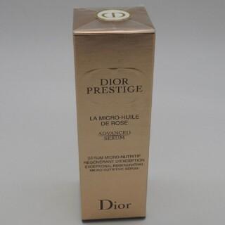ディオール(Dior)のディオール プレステージ マイクロ ユイル ド ローズ セラム 50ml(美容液)
