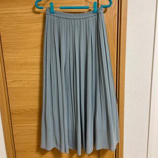 UNIQLO - ユニクロ シフォンプリーツスカート ロングスカート