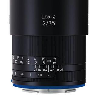 SONY - loxia 2/35 美品 純正保護フィルター付き