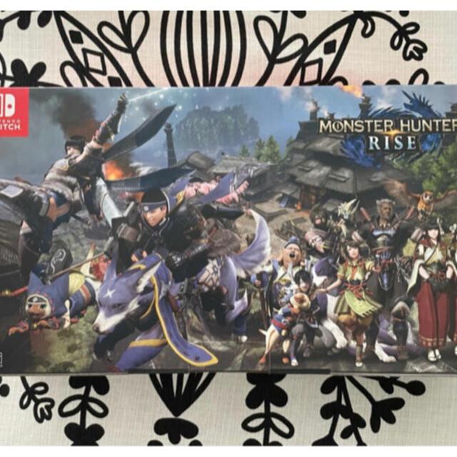 Nintendo Switch(ニンテンドースイッチ)のNintendo Switch モンスターハンターライズスペシャル 本体 エンタメ/ホビーのゲームソフト/ゲーム機本体(家庭用ゲーム機本体)の商品写真
