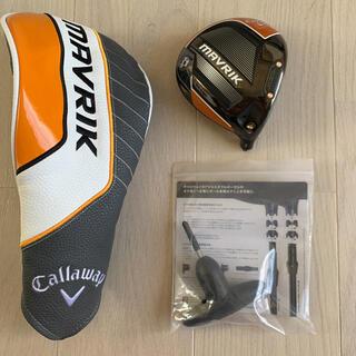 Callaway Golf - キャロウェイ ドライバー マーベリック9.0° ヘッドのみ ヘッドカバーレンチ付
