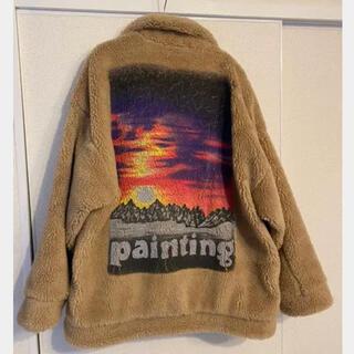 ピースマイナスワン(PEACEMINUSONE)のDoublet Painting ファージャケット ジヨン着用(ブルゾン)