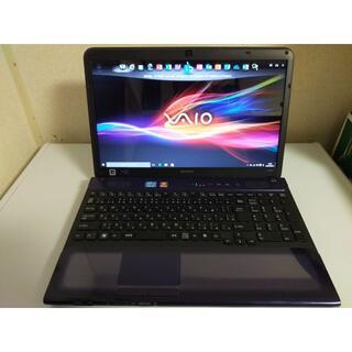 バイオ(VAIO)のSONY VAIO i5 /4GB/SSD 240GB /MS OFFICE(ノートPC)