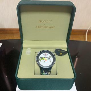 A BATHING APE - A BATHING APE swatch 時計