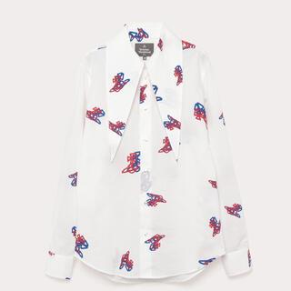 ヴィヴィアンウエストウッド(Vivienne Westwood)のViviennewestwood MAN 白シャツ(シャツ)