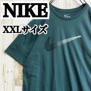 NIKE - 【ナイキ】【XXL】【レアカラー】【ビッグロゴ】【ゆるダボ】【Tシャツ】
