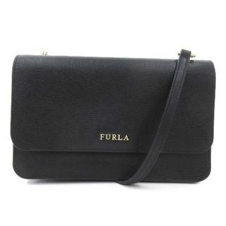 Furla - フルラ RIVA クロスボディ 財布 ウォレットバッグ ショルダ- 3WAY 黒