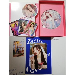 Waste(twice) - TWICE  taste of loveサナ CD アルバム