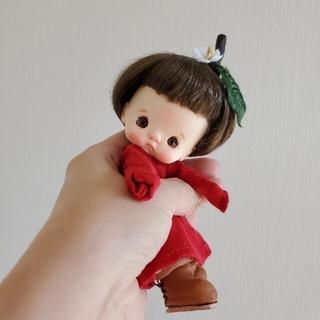 miumoe   りんごほっぺちゃん+子羊ちゃんオマケ❤︎オビツ11