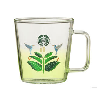 Starbucks Coffee - スターバックス 耐熱グラスマグ ハシエンダ アルサシア 355ml