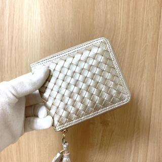 本革 折り財布 牛革 手編み レディース 可愛い 大容量 便利 お洒落 折り財布(財布)