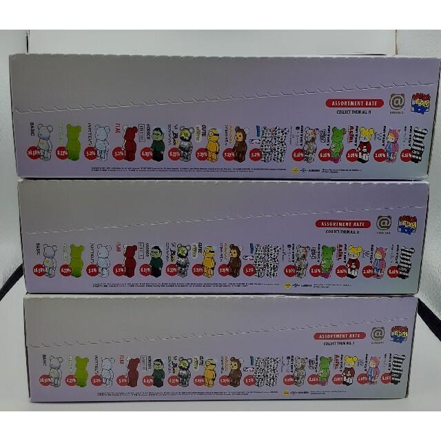 MEDICOM TOY(メディコムトイ)のベアブリック BE@RBRICK SERIES 42 3箱セット エンタメ/ホビーのフィギュア(その他)の商品写真
