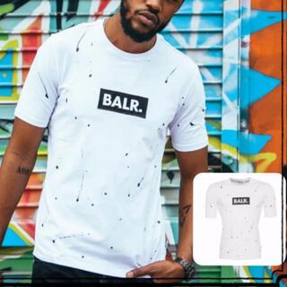 BALR. スプラッターTシャツ (ホワイト)