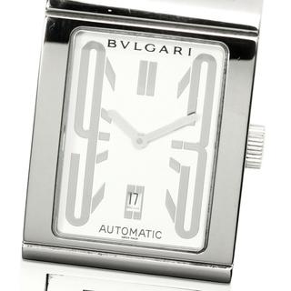 ブルガリ(BVLGARI)の★箱・保 ブルガリ レッタンゴロ  RT45S 自動巻き メンズ 【中古】(腕時計(アナログ))