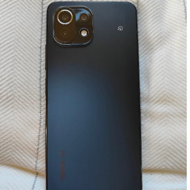 ANDROID(アンドロイド)の[美品]Xiaomi mi11 lite 5G simフリー 国内版 スマホ/家電/カメラのスマートフォン/携帯電話(スマートフォン本体)の商品写真