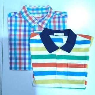 GU - ポロシャツ&半袖シャツ 2枚セット