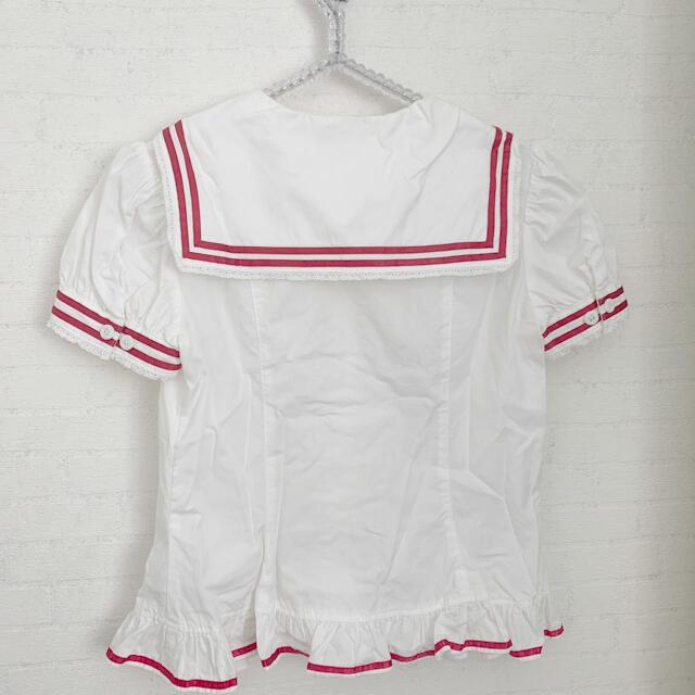 Angelic Pretty(アンジェリックプリティー)のアンジェリックプリティ ブラウス セーラー レディースのトップス(シャツ/ブラウス(半袖/袖なし))の商品写真