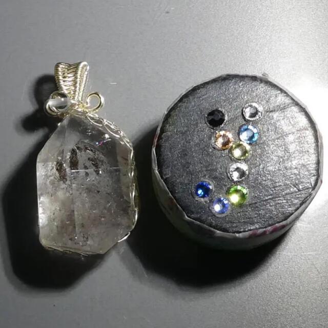 51ct ウォーターインクォーツ ペンダント 天然石 ルース DIY 2750 ハンドメイドの素材/材料(各種パーツ)の商品写真