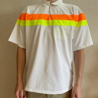 コモリ(COMOLI)のNICENESS Marshallマイクロファイバーボーダーシャツ(ポロシャツ)