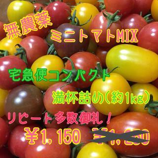 無農薬 ミニトマト 品種MIXいろいろ 詰め合わせ(野菜)