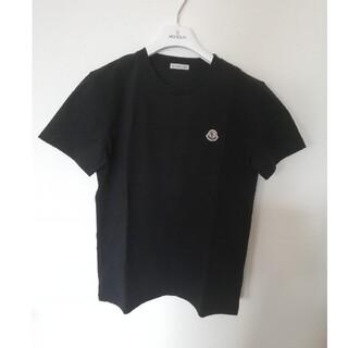 モンクレール(MONCLER)の【新品】MONCLERモンクレール Tシャツ黒14A(Tシャツ(半袖/袖なし))