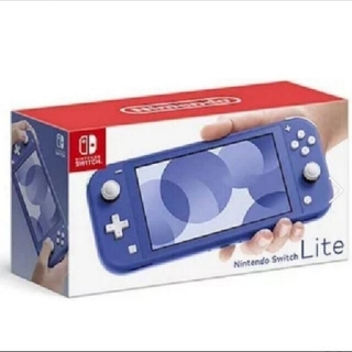 Nintendo Switch - 任天堂Switchライト ブルー