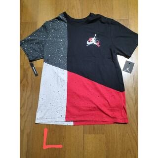 NIKE - NIKE サイズ L JORDAN×NIKE AIR T 黒赤グレー未使用