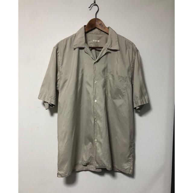 COMOLI(コモリ)のコモリ オープンカラーシルクシャツ メンズのトップス(シャツ)の商品写真
