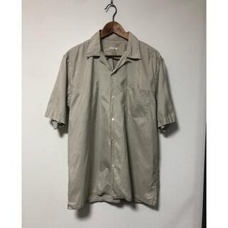 COMOLI - コモリ オープンカラーシルクシャツ