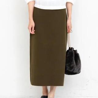 ビューティアンドユースユナイテッドアローズ(BEAUTY&YOUTH UNITED ARROWS)のbeauty&youthコットンミラノリブタイトニットスカート(ロングスカート)