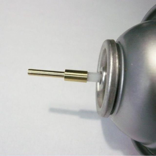 エアダスター ガスアダプター ガスガン 変換ノズル エンタメ/ホビーのミリタリー(カスタムパーツ)の商品写真
