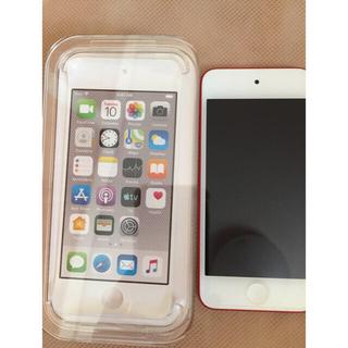 アイポッドタッチ(iPod touch)のちゃちゃまる様専用iPod touch 第7世代 レッド 32GB(ポータブルプレーヤー)