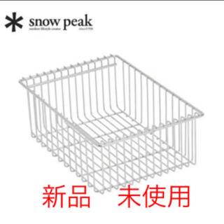 Snow Peak - 新品 未使用 スノーピーク igt メッシュトレー 深型 1ユニット