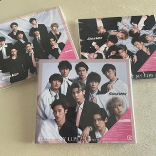 Johnny's - snowman CD KISSIN' MY LIPS 3枚セット
