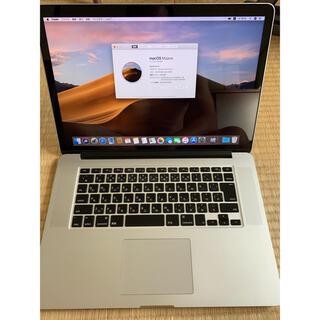 Mac (Apple) - 15インチMacbook Retina  i7 16 500 VGA1TB
