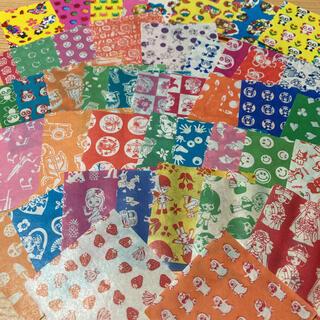 昭和レトロ 駄菓子屋ミニサラサ 千代紙  折り紙おりがみちよがみカコちゃん(印刷物)