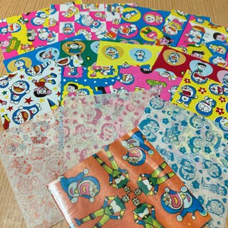 レア✨昭和レトロ ドラえもん柄千代紙 折り紙おりがみちよがみカコちゃんオバQ(印刷物)