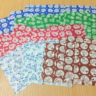 昭和レトロ 駄菓子屋 サラサ スヌーピー柄 千代紙 折り紙 ちよがみ交換おりがみ(印刷物)