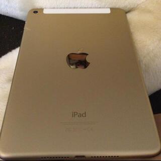 iPad - iPad mini4 16GB wifi+セルラー SIMフリー ゴールド