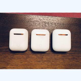 Apple - Apple AirPodsワイヤレスイヤホンケースA1602   3個