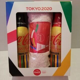 コカコーラ(コカ・コーラ)のコカ・コーラスリムボトル 東京2020オリンピック限定 マフラータオルセット(その他)